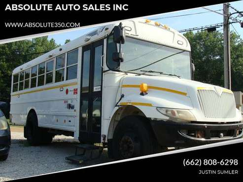 2012 INTERNATIONAL BUS DIESEL 28-30 PASSENGER - STOCK #925 - ABSOLUTE for sale in Guys, MS