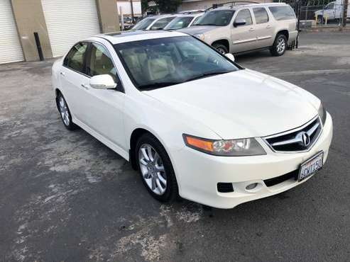 CLEAN TITLE 2008 ACURA TSX FULLY LOADED 3MONTH WARRANTY for sale in Sacramento , CA