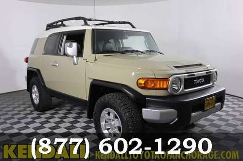 2014 Toyota FJ Cruiser Quicksand ON SPECIAL! for sale in Anchorage, AK