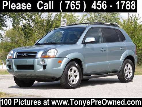 2009 HYUNDAI TUCSON LIMITED 4X4 ~~~~~~~ 35,000 Miles ~~~~~~~ FINANCING for sale in Kokomo, OH
