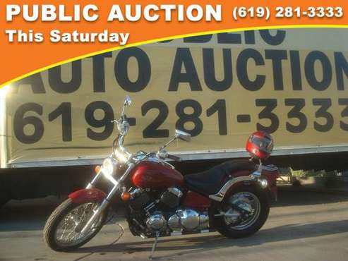 2000 Yamaha v star Public Auction Opening Bid for sale in Mission Valley, CA