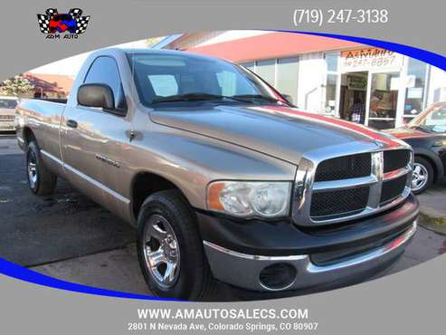 2004 Dodge Ram 1500 Regular Cab - Financing Available! - cars &... for sale in Colorado Springs, CO