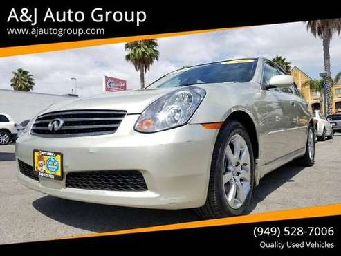 2006 Infiniti G35 Base 4dr Sedan w/Automatic for sale in Westminster, CA