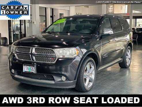 2013 Dodge Durango All Wheel Drive Citadel AWD NAV 3RD ROW SEAT... for sale in Gladstone, OR