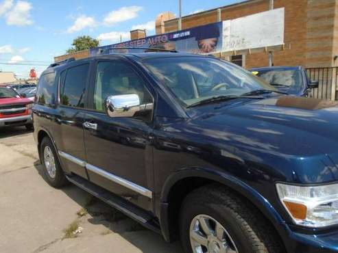 2007 Infiniti QX56 Base 4dr SUV 4WD 85361 Miles for sale in Toledo, OH