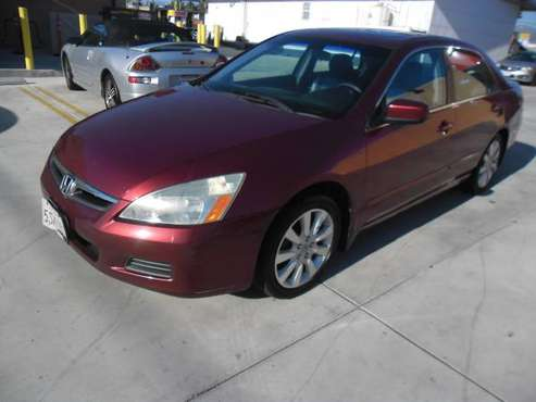2006 HONDA ACCORD for sale in Valley Village, CA