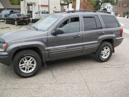 2004 Jeep Grand Cherokee 4x4 for sale in Romeo, MI