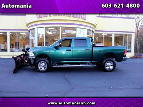 2015 RAM 2500 CUMMINS CREW CAB W/ BOSS V BLADE DIESEL TRUCK - Best... for sale in Hooksett, NH