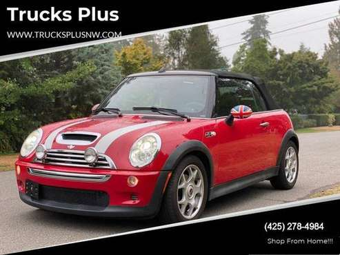 2008 MINI Cooper S 2dr Convertible - cars & trucks - by dealer -... for sale in Seattle, WA