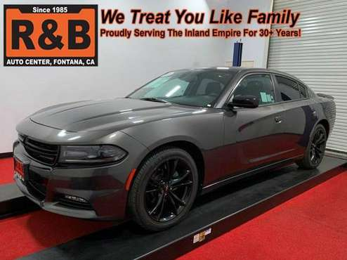 2018 Dodge Charger SXT Plus - Open 9 - 6, No Contact Delivery Avail.... for sale in Fontana, CA