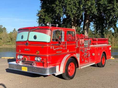 "🚨1965 INTERNATIONAL HOWE FIRE TRUCK 🚨 ""RED""🚨 FROM DISNEY CARS MOVIE for sale in Independence, OR"