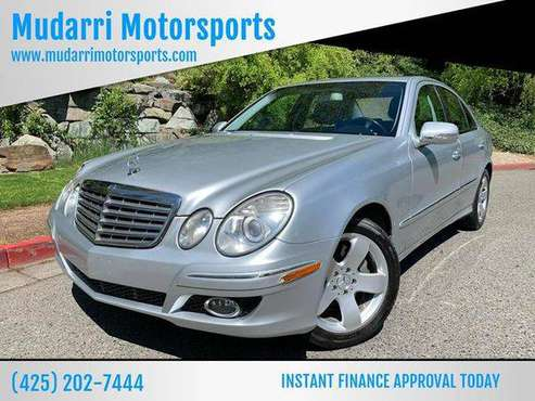 2007 Mercedes-Benz E-Class E 550 4dr Sedan CALL NOW FOR AVAILABILITY! for sale in Kirkland, WA