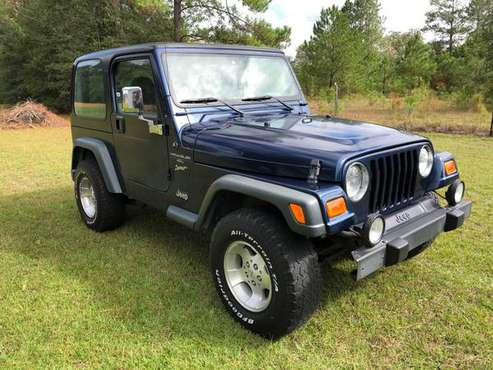 2000 Jeep Wrangler TJ Sport Hardtop for sale in Guyton, GA