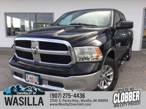 2014 Ram 1500 4WD Crew Cab 140.5 SLT - cars & trucks - by dealer -... for sale in Wasilla, AK