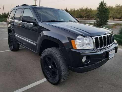 2005 Jeep Grand Cherokee Limited 4x4 - Hemi - Lifted BLACK COLOR for sale in Holt, CA