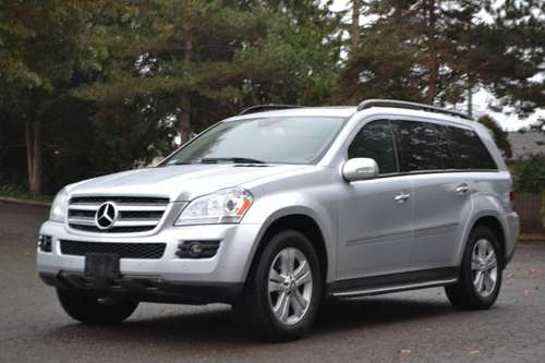 2008 Mercedes Benz GL450 AWD SUV, Panoramic Sunroof, 3rd ROW SEATS!!! for sale in Tacoma, WA