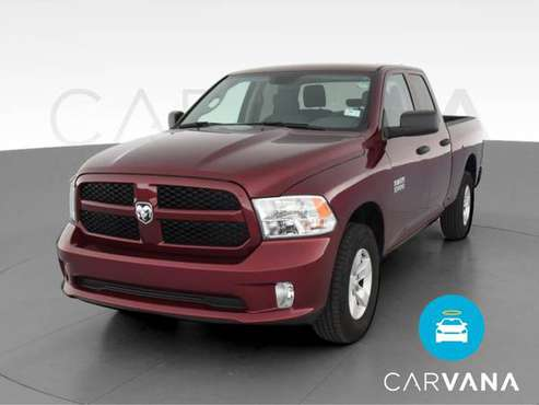 2017 Ram 1500 Quad Cab Express Pickup 4D 6 1/3 ft pickup Burgundy -... for sale in Grand Rapids, MI