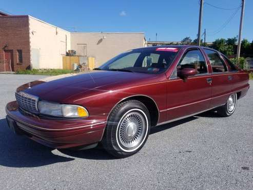 1992 Chevy Caprice Classic LTZ ONLY 63K LIKE NEW for sale in HARRISBURG, PA