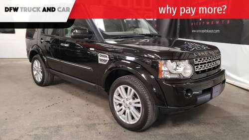 2010 Land Rover LR4 4WD 4dr V8 LUX for sale in Fortworth, TX