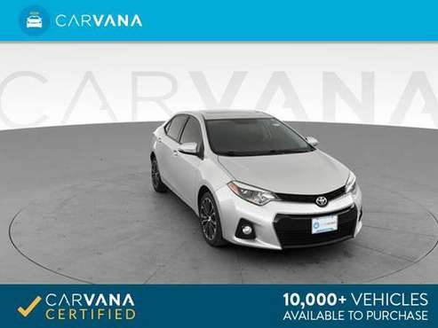2014 Toyota Corolla S Sedan 4D sedan Silver - FINANCE ONLINE for sale in Detroit, MI