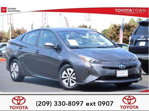 2018 Toyota Prius hatchback Two for sale in Stockton, CA
