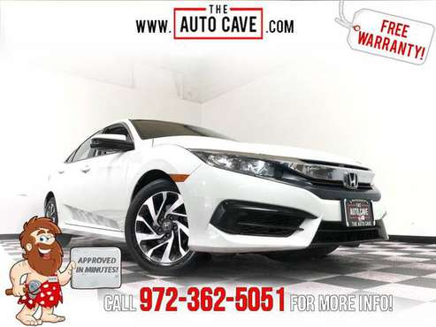 2017 Honda Civic *Get APPROVED In Minutes! for sale in irving, TX