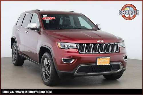 2017 JEEP Grand Cherokee Limited 4x4 Crossover SUV for sale in Amityville, NY