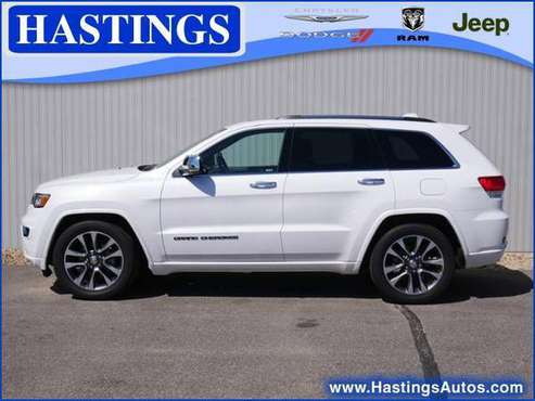 2017 Jeep Grand Cherokee Overland 4WD for sale in Hastings, MN