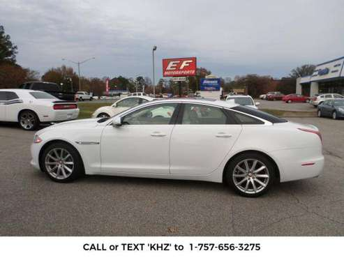 2014 *JAGUAR XJ-SERIES* Sedan XJ (WHITE) for sale in Chesapeake , VA