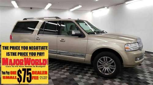 2008 LINCOLN Navigator L 4D Crossover SUV for sale in Long Island City, NY