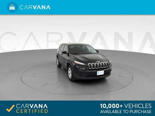 2014 Jeep Cherokee Sport SUV 4D suv Black - FINANCE ONLINE for sale in Memphis, TN