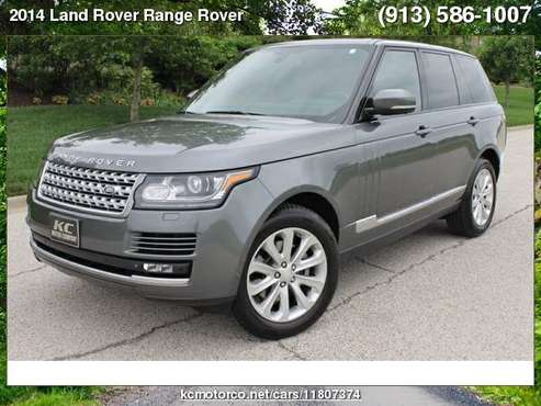 2014 Land Rover Range Rover HSE V6 Supercharged All Vehicles Pre... for sale in Bucyrus, KS