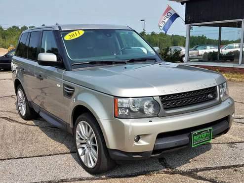 2011 Land Rover Range Rover Sport HSE Luxury, 96K, V8, Leather, Roof for sale in Belmont, ME