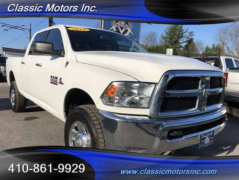 2018 Ram 2500 Crew Cab SLT 4X4 1-OWNER!!!! - cars & trucks - by... for sale in Finksburg, MD