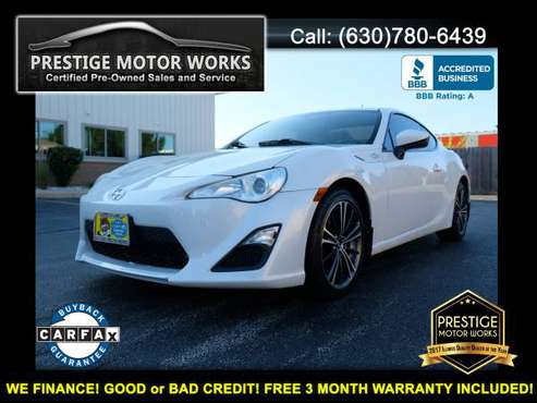 2014 Scion FR-S! AS LOW AS $1500 DOWN FOR IN HOUSE FINANCING! for sale in Naperville, IL