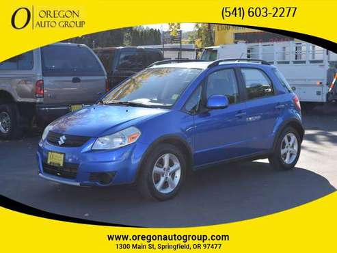 2007 Suzuki SX4 Hatchback Sedan 4D AWD All Wheel Drive 5 SPD MAN NICE! for sale in Springfield, OR