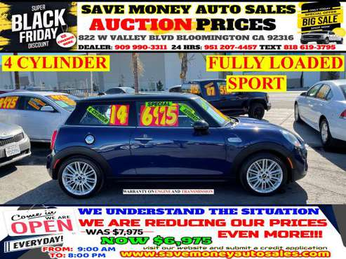 2014 MINI COOPER HARDTOP>FULL LEATHER>CALL 24HR - cars & trucks - by... for sale in BLOOMINGTON, CA