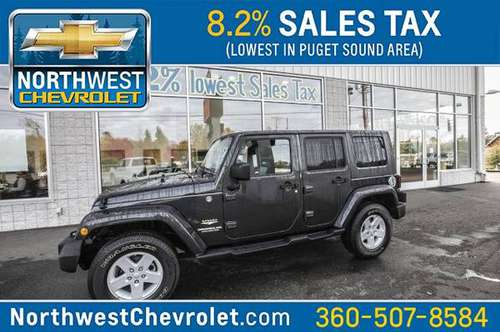 2010 Jeep Wrangler Unlimited Sahara for sale in McKenna, WA