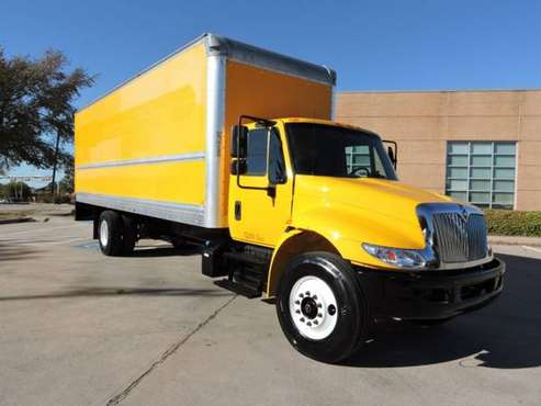 2019 INTERNATIONAL 26 FOOT BOX TRUCK W/CUMMINS with for sale in Grand Prairie, TX