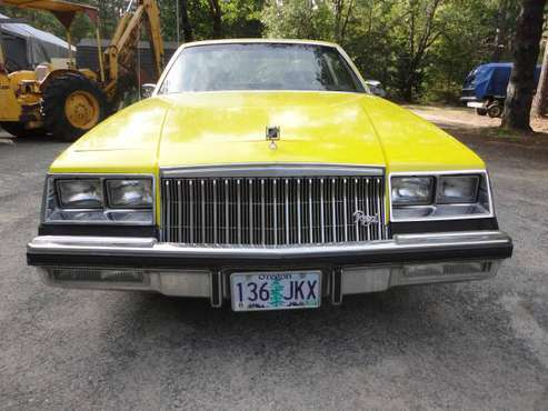 a sleeper 84 buick regal,455 cu for sale in grants pass,or, OR