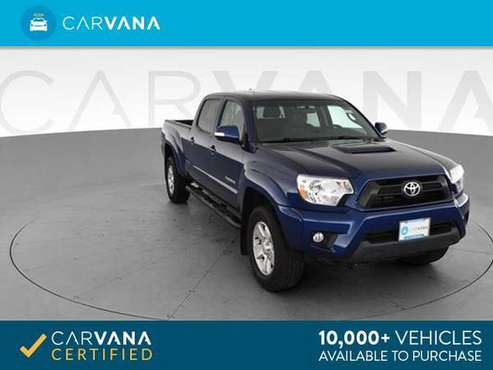2015 Toyota Tacoma Double Cab Pickup 4D 6 ft pickup Blue - FINANCE for sale in Baltimore, MD