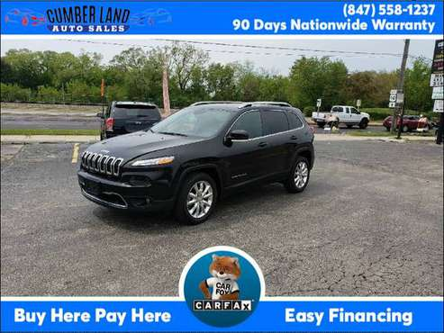 2017 Jeep Cherokee Limited FWD Suburbs of Chicago for sale in Desplaines, IL