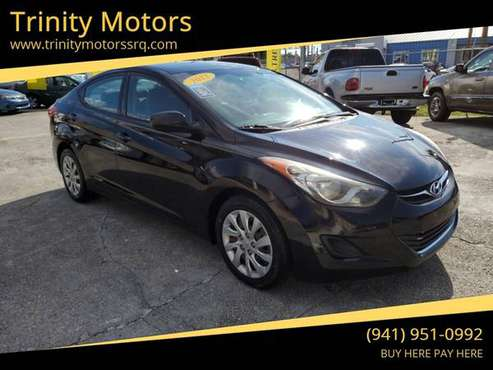 2012 Hyundai Elantra -buy here pay here for sale in Sarasota, FL
