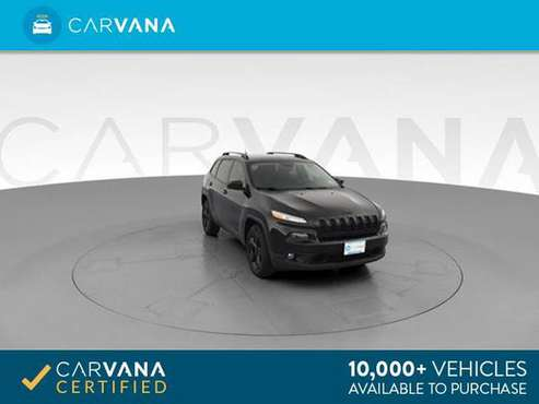2016 Jeep Cherokee High Altitude Sport Utility 4D suv Black - FINANCE for sale in Memphis, TN