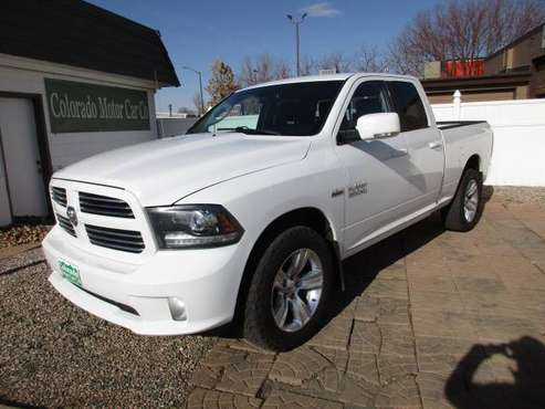 2014 Ram 1500 Quad Cab Sport 4WD - cars & trucks - by dealer -... for sale in Ft Collins, CO