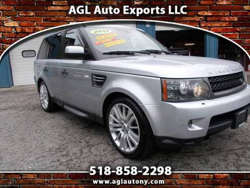 2011 Land Rover Range Rover Sport 4WD 4dr HSE LUX for sale in Cohoes, NY