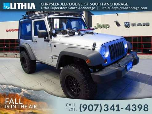 2011 Jeep Wrangler 4WD 2dr Sport for sale in Anchorage, AK