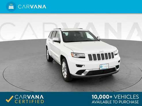 2014 Jeep Grand Cherokee Summit Sport Utility 4D suv White - FINANCE for sale in Detroit, MI