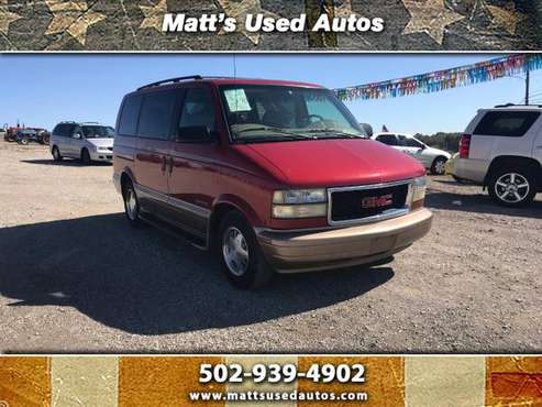 ***2001 GMC Safari XT RWD,*** ZERO Accidents for sale in Finchville, KY