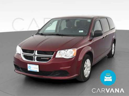 2019 Dodge Grand Caravan Passenger SE Minivan 4D van Red - FINANCE -... for sale in Atlanta, CA